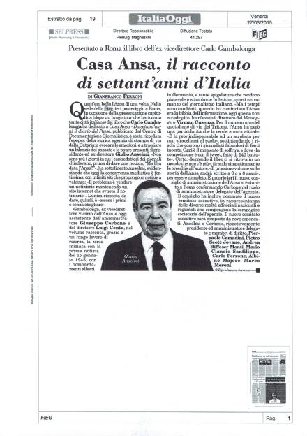 Casa Ansa, il racconto di settant'anni d'Italia