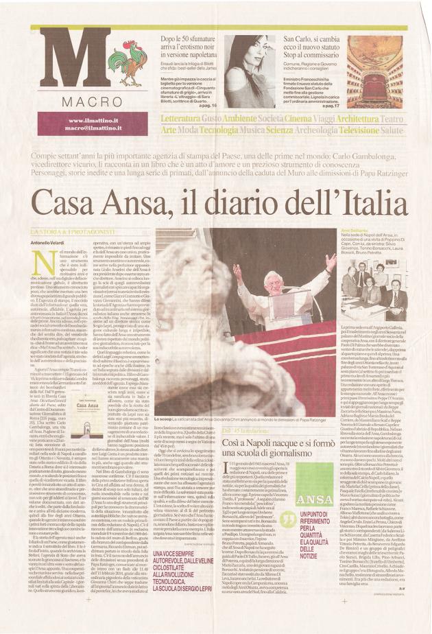 Casa Ansa, il diario dell'Italia